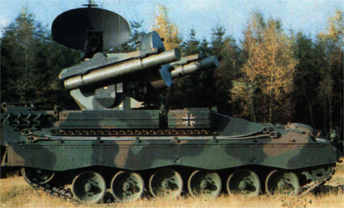 Marder Roland anti-aircraft air defence armoured vehicle