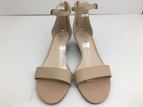 d961a918215d Cole Haan Adderly Nude Leather Women s Wedge Ankle Strap Sandals Size 8.5 M  Cole Haan Adderly