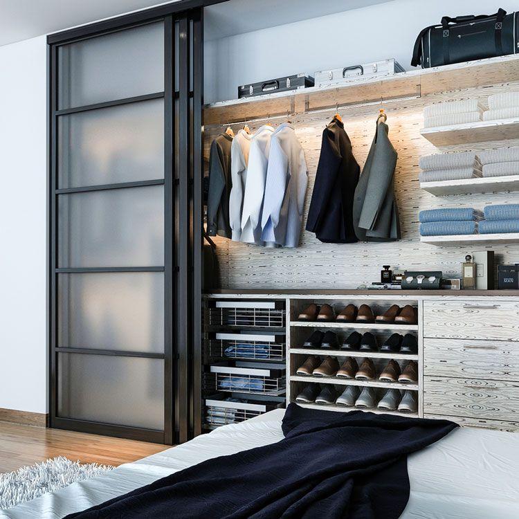 Custom Closets vs. DIY Closet Kits | Small closet space ...