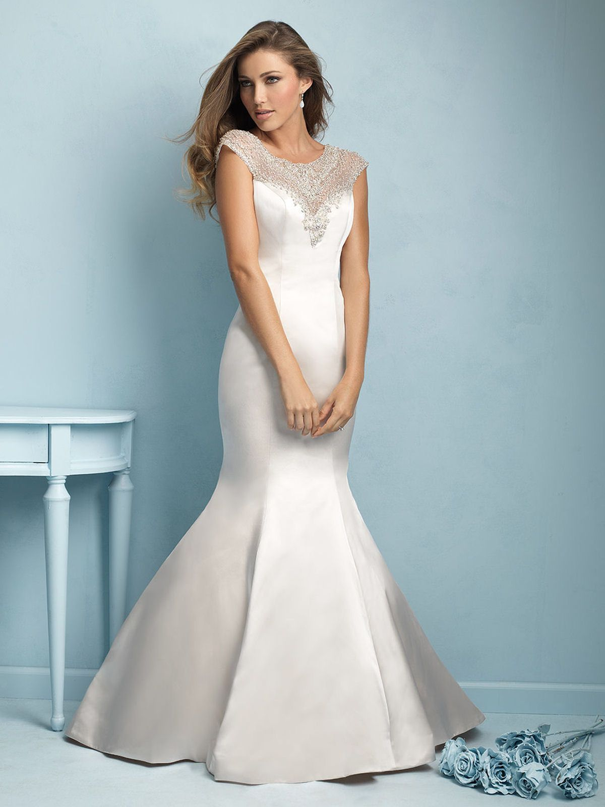 9209 from Allure Bridals #2015fashion #wedding #bridalwear ...