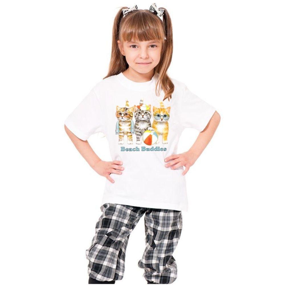 Youth T-shirt 'Beach Buddies' Print