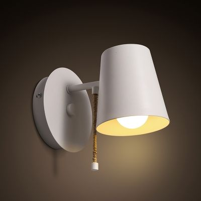 Wall Sconce With Pull Chain Switch Fascinating Industrial Style White Single Light Outdoor Led Wall Sconce With Design Inspiration