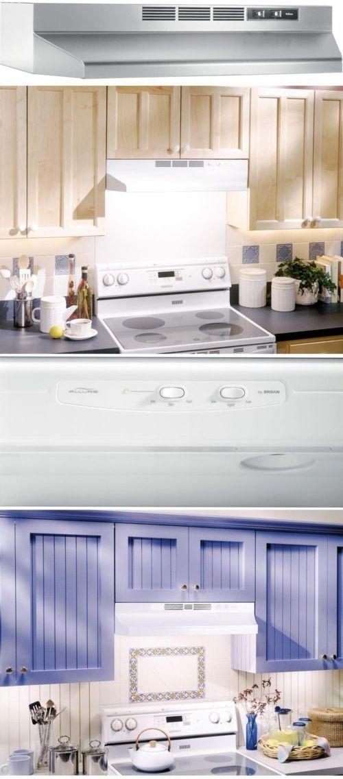 Range Hoods 71253: Non Vented Range Hood 30 Under Cabinet Mount Kitchen  Ductless Stainless Steel