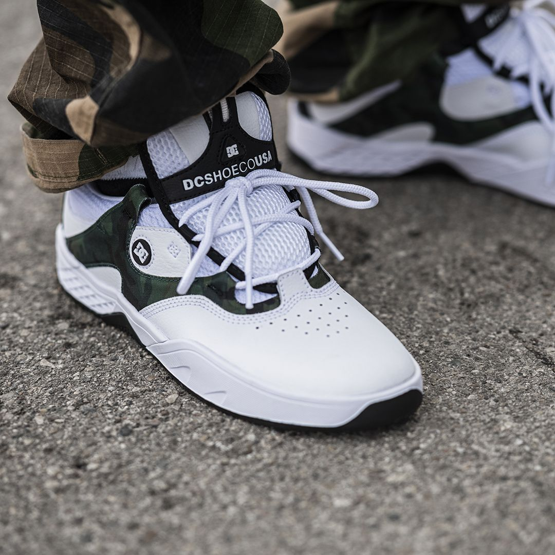 DC Kalis S Shoes (white camo) in 2019 | Sneaker boots, Skate