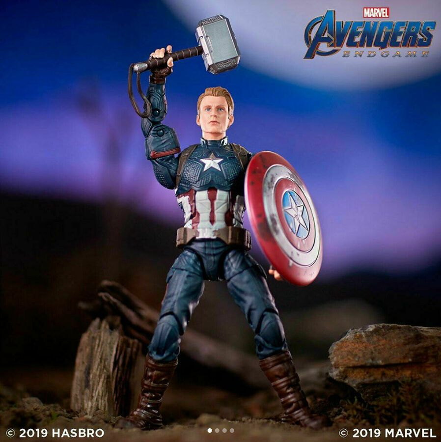 New In Stock Marvel Legends Captain America Avengers Endgame 2019