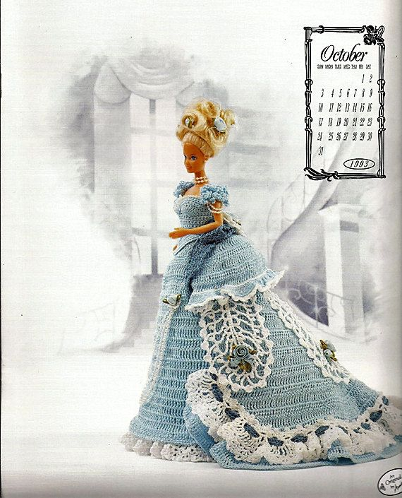 The Victorian Lady Centennial Collection Miss October 1993 Fashion ...