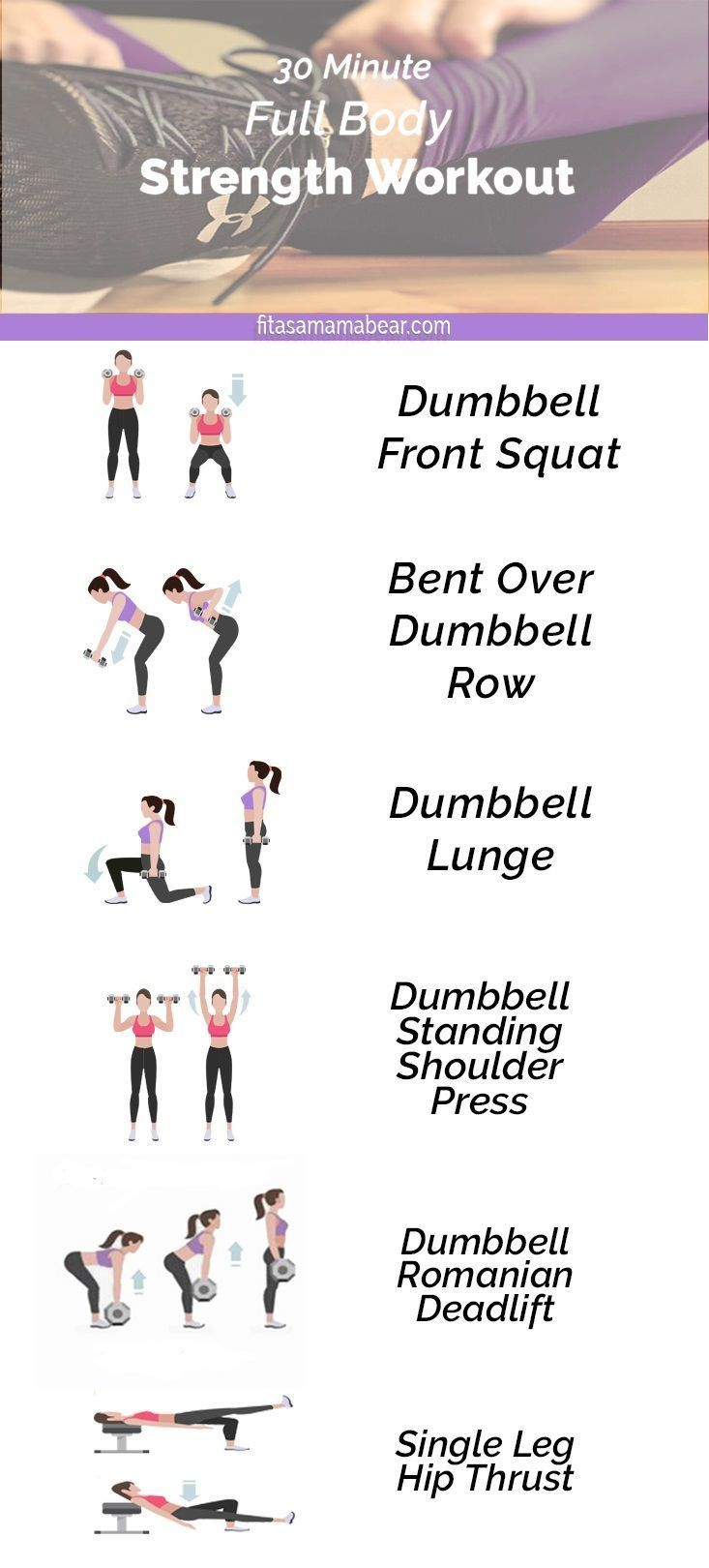 Dumbbell Only Workout For Strong Toned Muscles