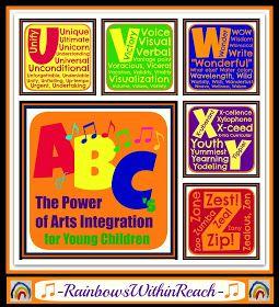 RainbowsWithinReach: ABCs of Arts Integration: U - Z, Part 5