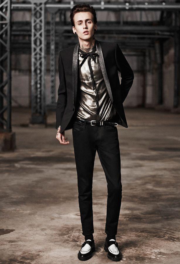 1b741f1c88 The Kooples SS14 #metallic #shirt #thekooples #man #collection | My ...