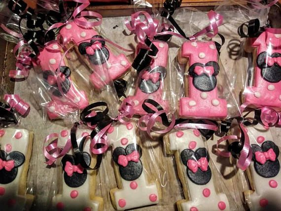 Minnie Mouse 1st Birthday 1 Dz
