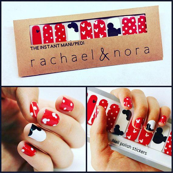 Rachael & Nora Instant Mani/Pedi nail wraps adhere to nails with no ...