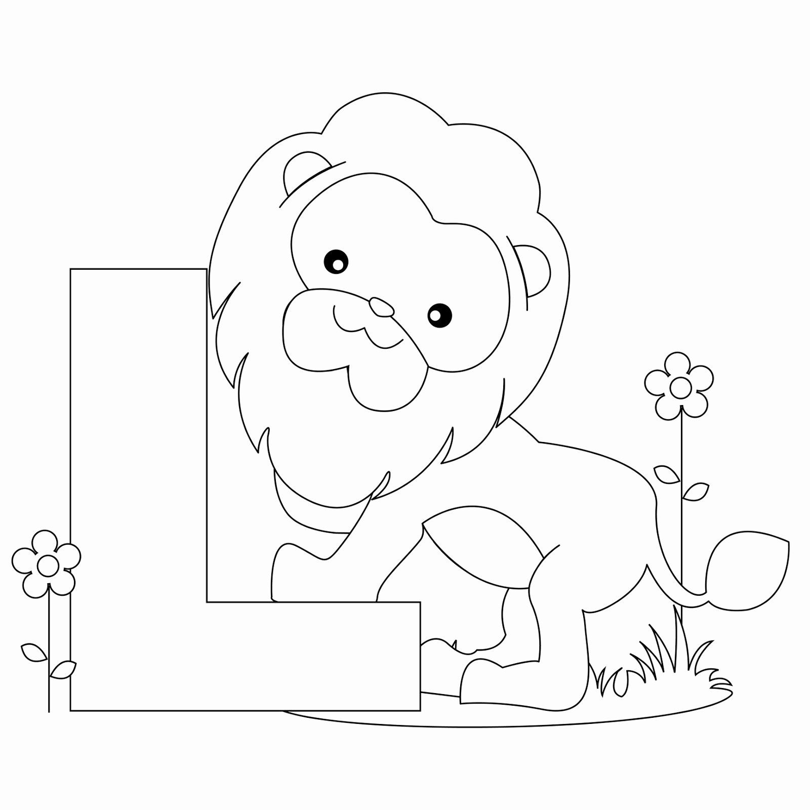 Abc Animal Coloring Pages Best Of Animal Alphabet Letter L