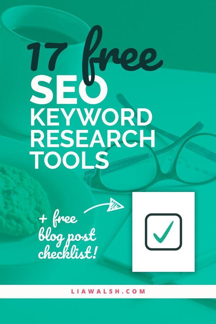17 free SEO keyword research tools Seo keywords, Seo