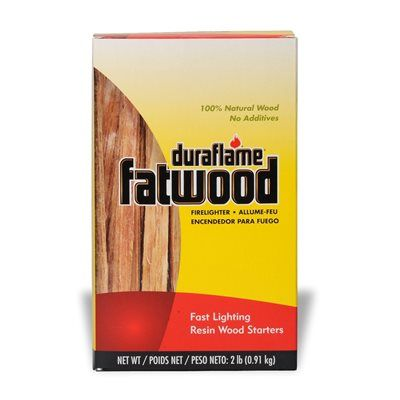 Duraflame 2 Lb Fatwood Firestarter 12 Pack Fatwood