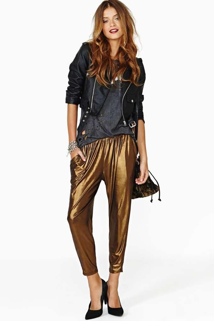 Lucca Couture Dark Dawn Track Pant