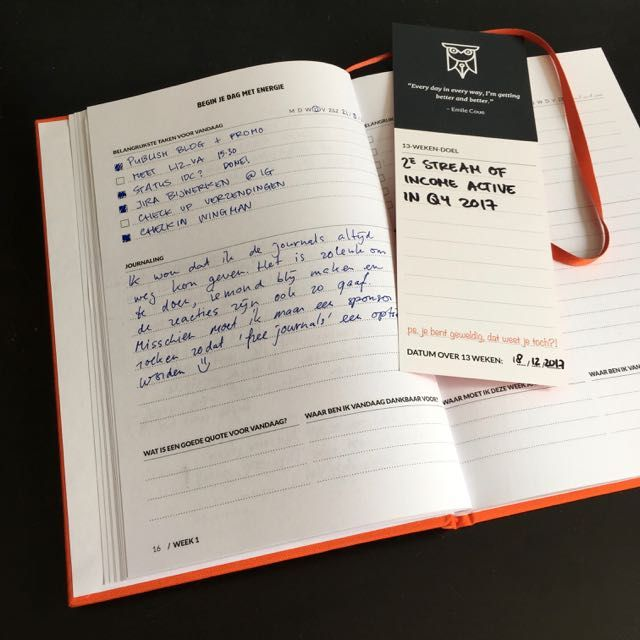 #myjournal my daily check-in on 21/9 it's in Dutch though, I might have to start journaling in English to allow everyone to read over my shoulders.  Can you show me your daily page?
