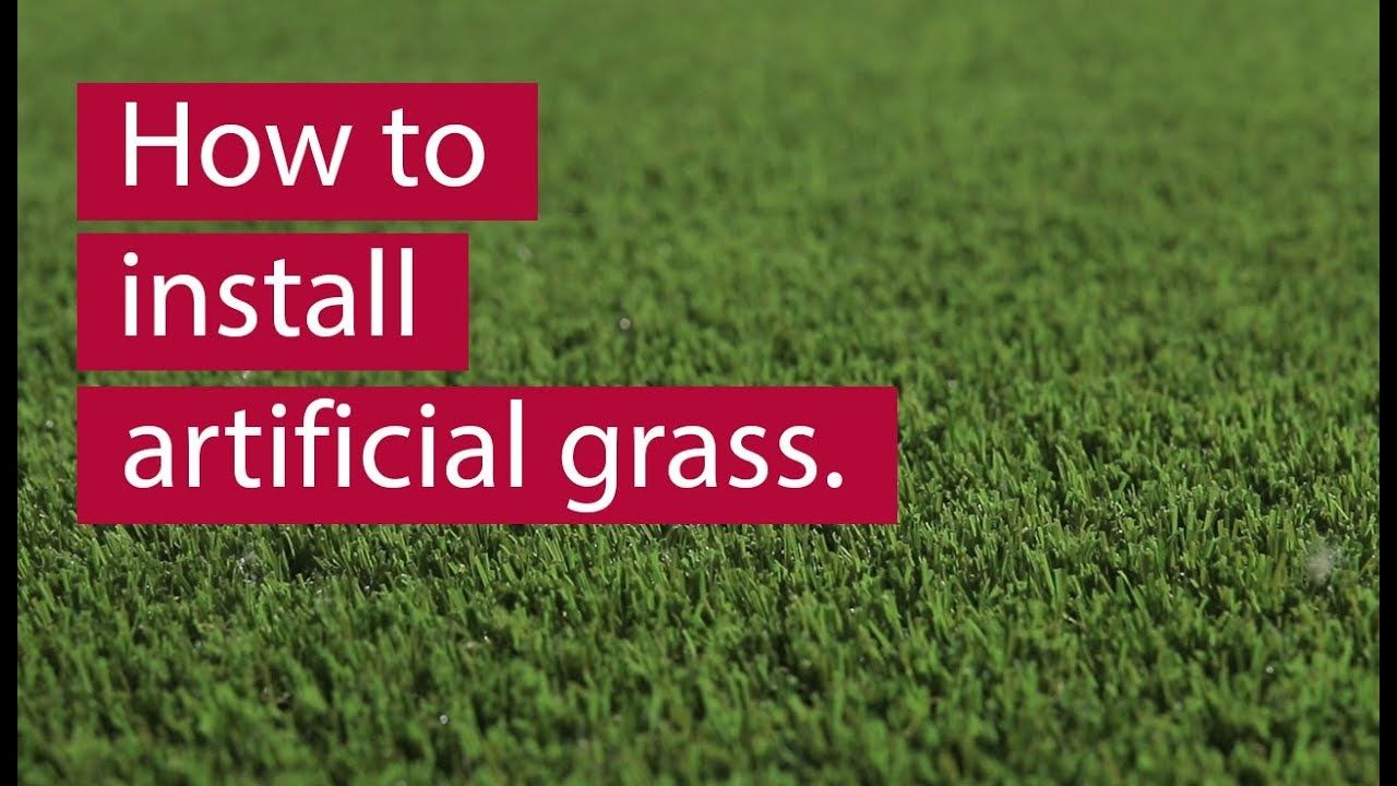 How to install artificial grass 2019 youtube in 2020