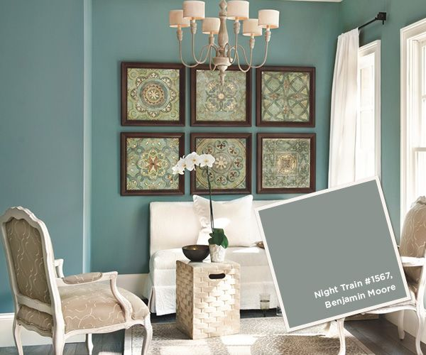 LOVE IT Benjamin Moore Night Train 1567 · Favorite Paint ...