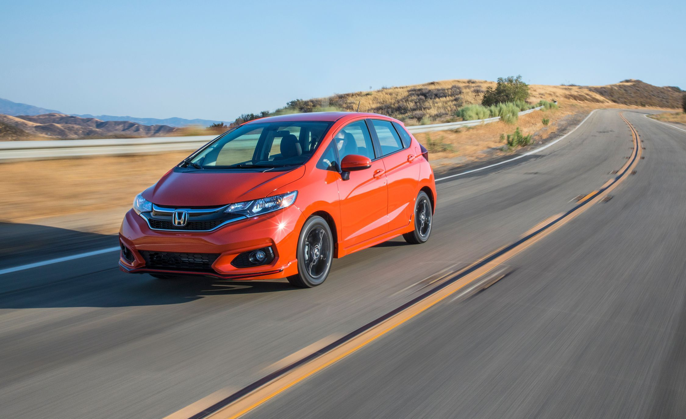 The High Ranking 2018 Honda Fit Has A Roomy Versatile Cabin With