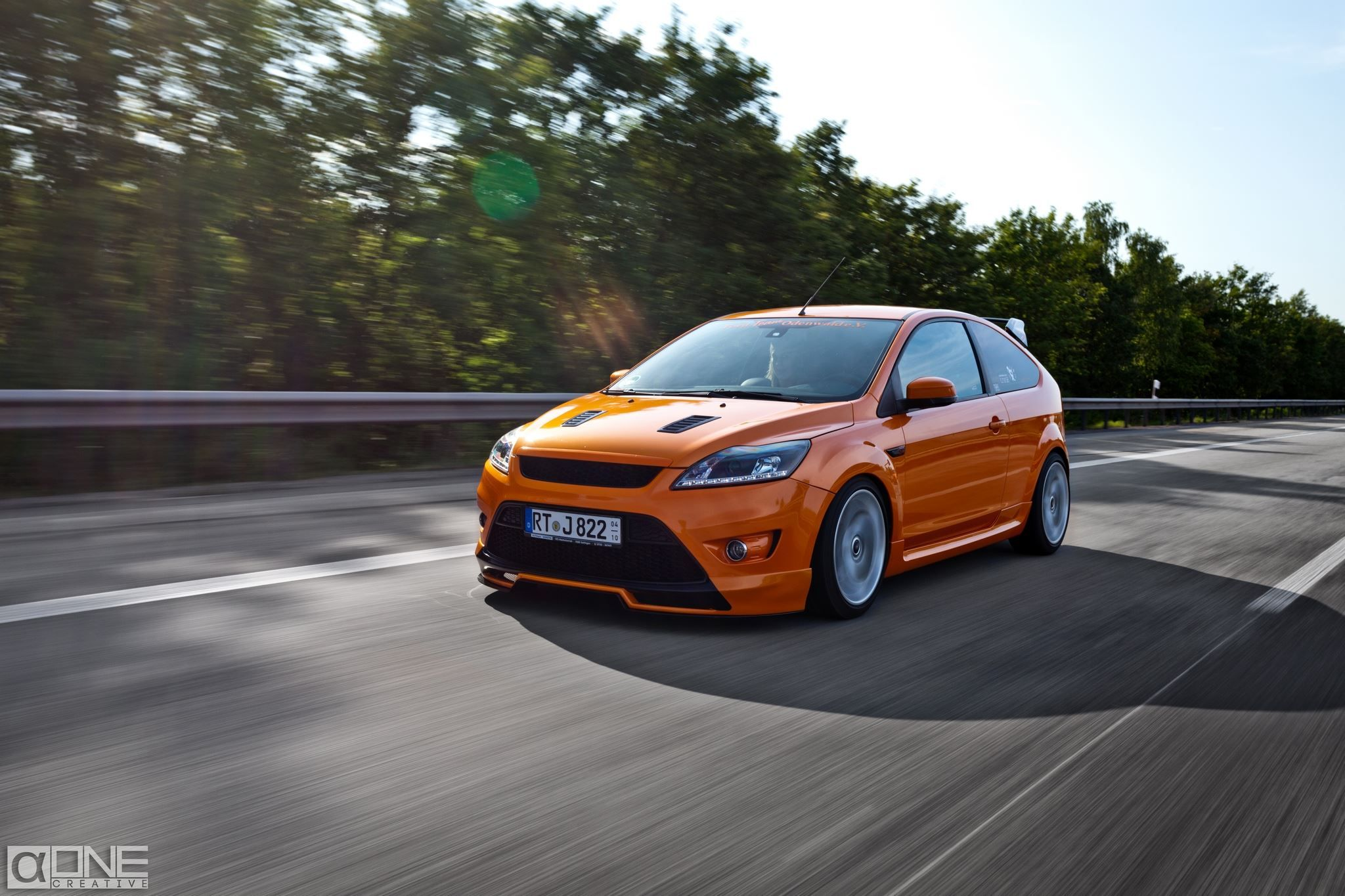 ford focus st electric orange mk2 ford focus st tuning pinterest ford focus ford and cars. Black Bedroom Furniture Sets. Home Design Ideas