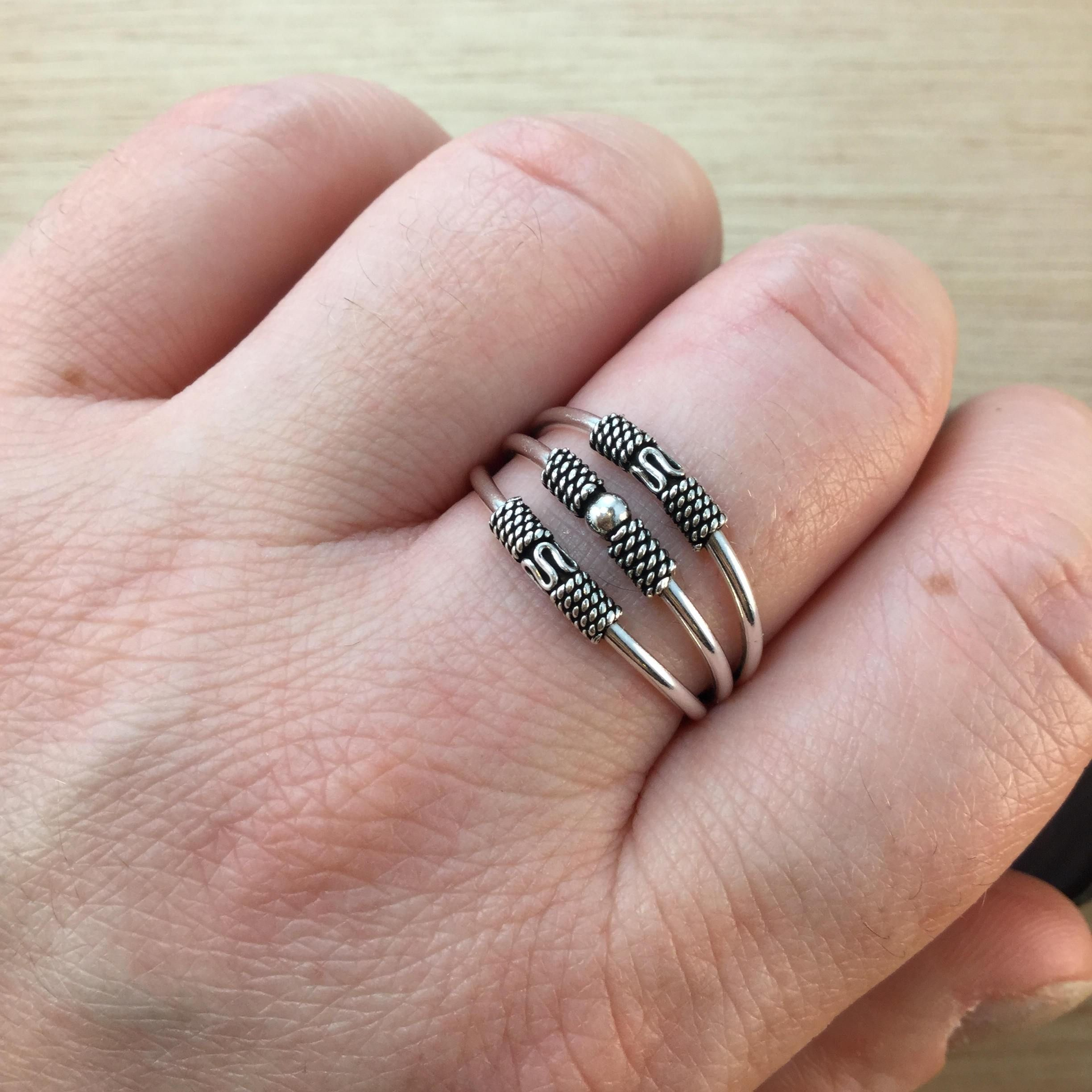 Triple Band Boho Ring | Boho, Ring and Free gifts