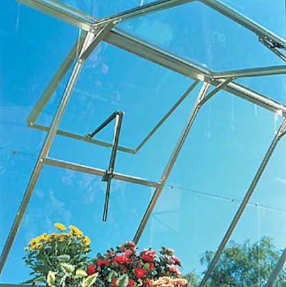 An Automatic Roof Vent Opener Is A Super Time Saver And Helps Keep The Temperature Cooler In Your Greenhouse Thes Lean To Greenhouse Greenhouse Buy Greenhouse