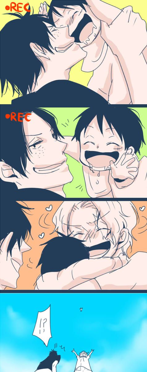 The doting & protective older brothers just can't help their