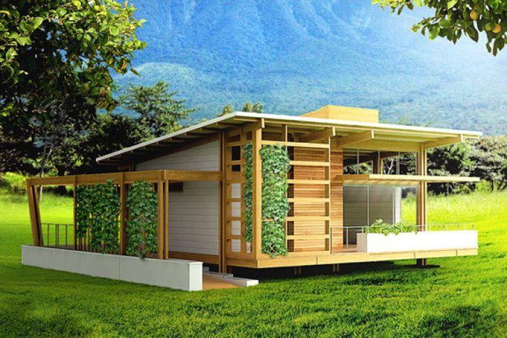 diseo de casa pequea de madera construye hogar