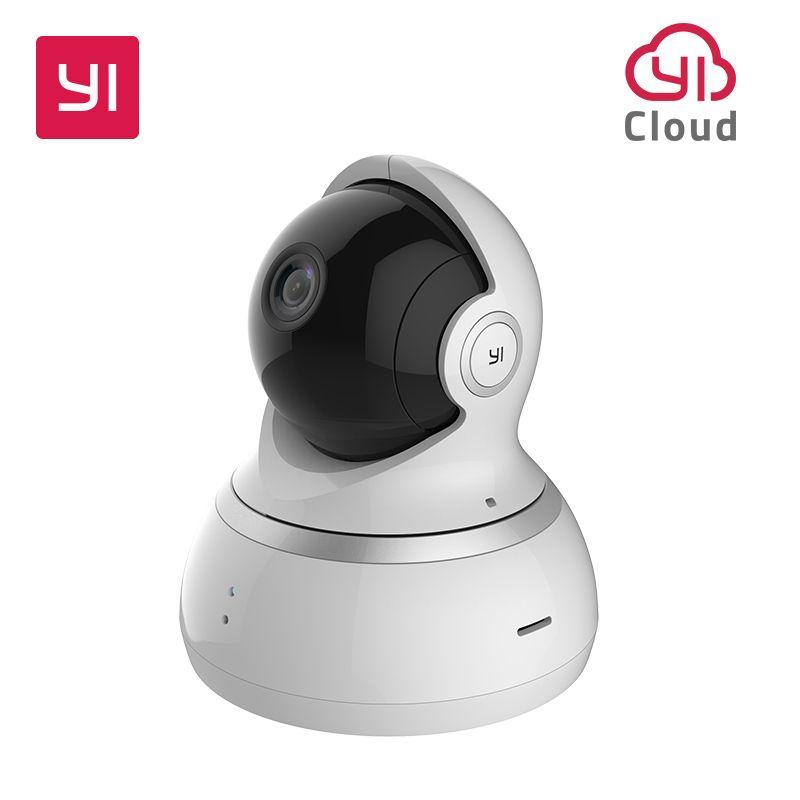 Yi 1080 P Kamera Night Vision International Version Pan Tilt Zoom Wireless Ip Nadzoru Bezpieczenstwa Yi Chmura D Dome Camera Security Surveillance Night Vision