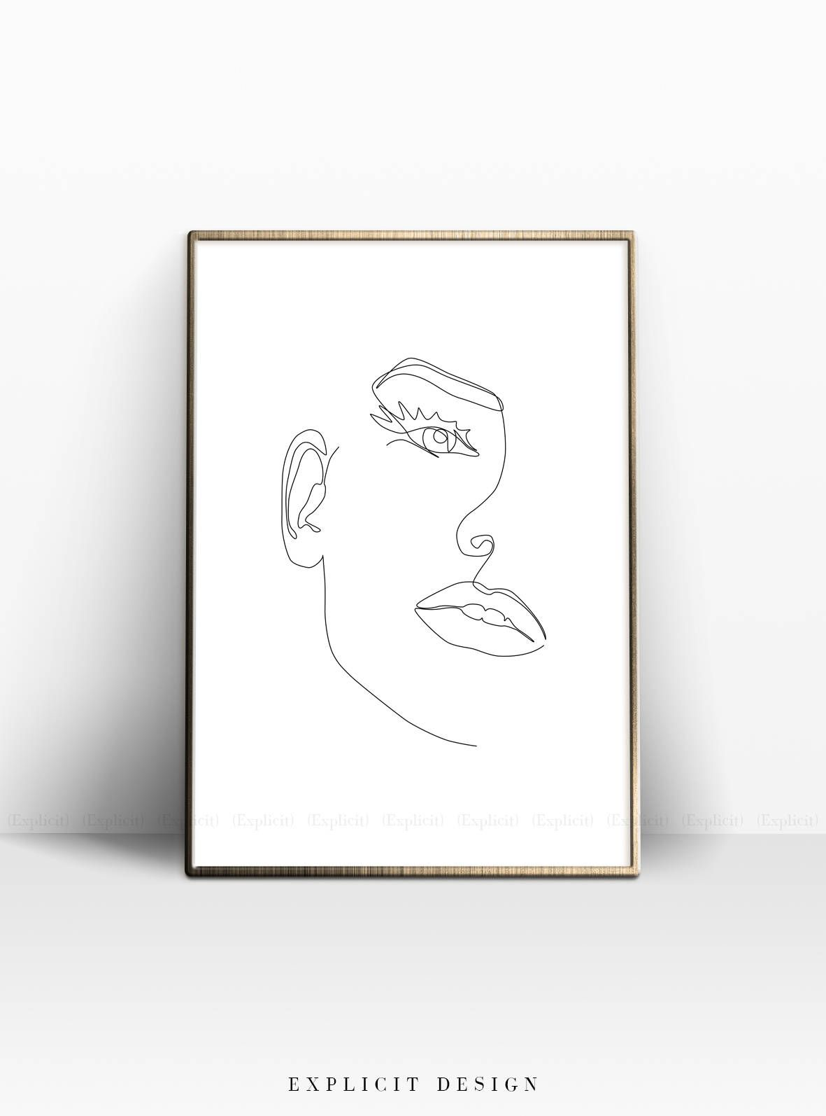 hight resolution of black and white sketches black and white artwork scandinavian wall decor woman illustration