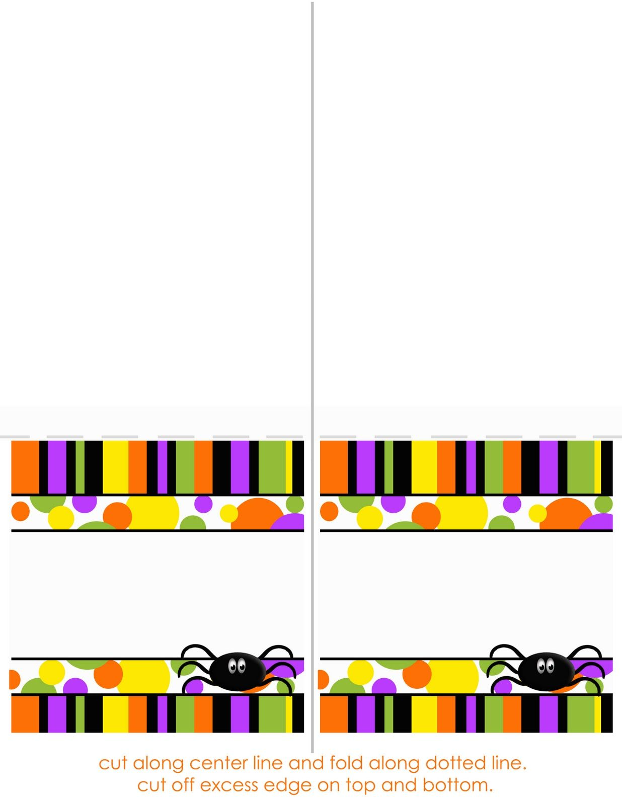 halloween+tent+cards (1236×1600) | halloween | pinterest