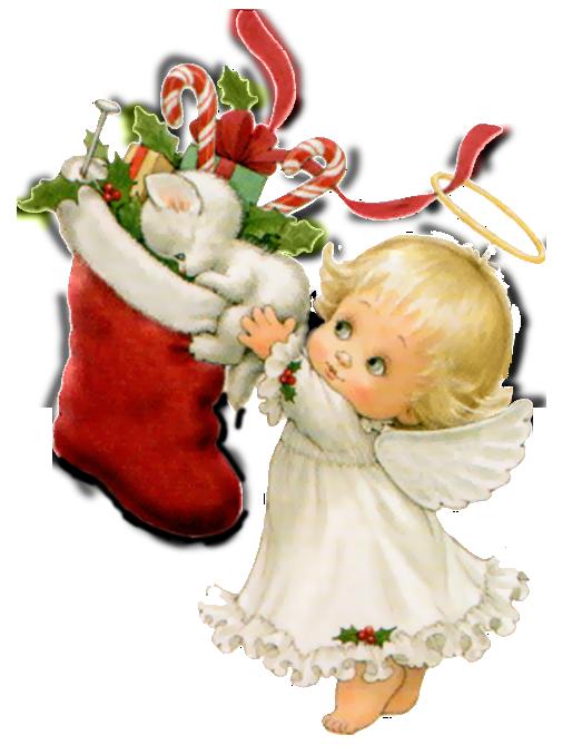 Christmas Angel Wallpaper - WallpaperSafari
