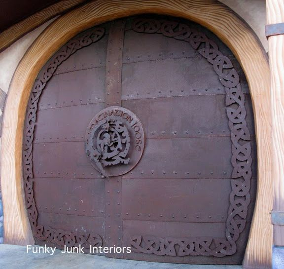 Sns 39 Brings You R U S T Metal Door Funky Junk Interiors Interior Exterior Doors