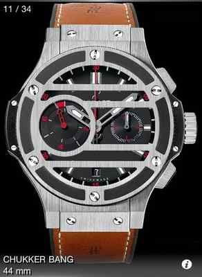 1dfdfa5fa84 Hublot Big Bang Flyback Chronograph - Chukker Bang Polo Watch - Limited  Edition. Asking price