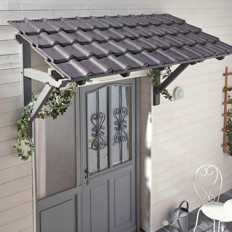 Auvent En Kit Pour Porte D Entree Porch Roof Design House With Porch Awning Over Door