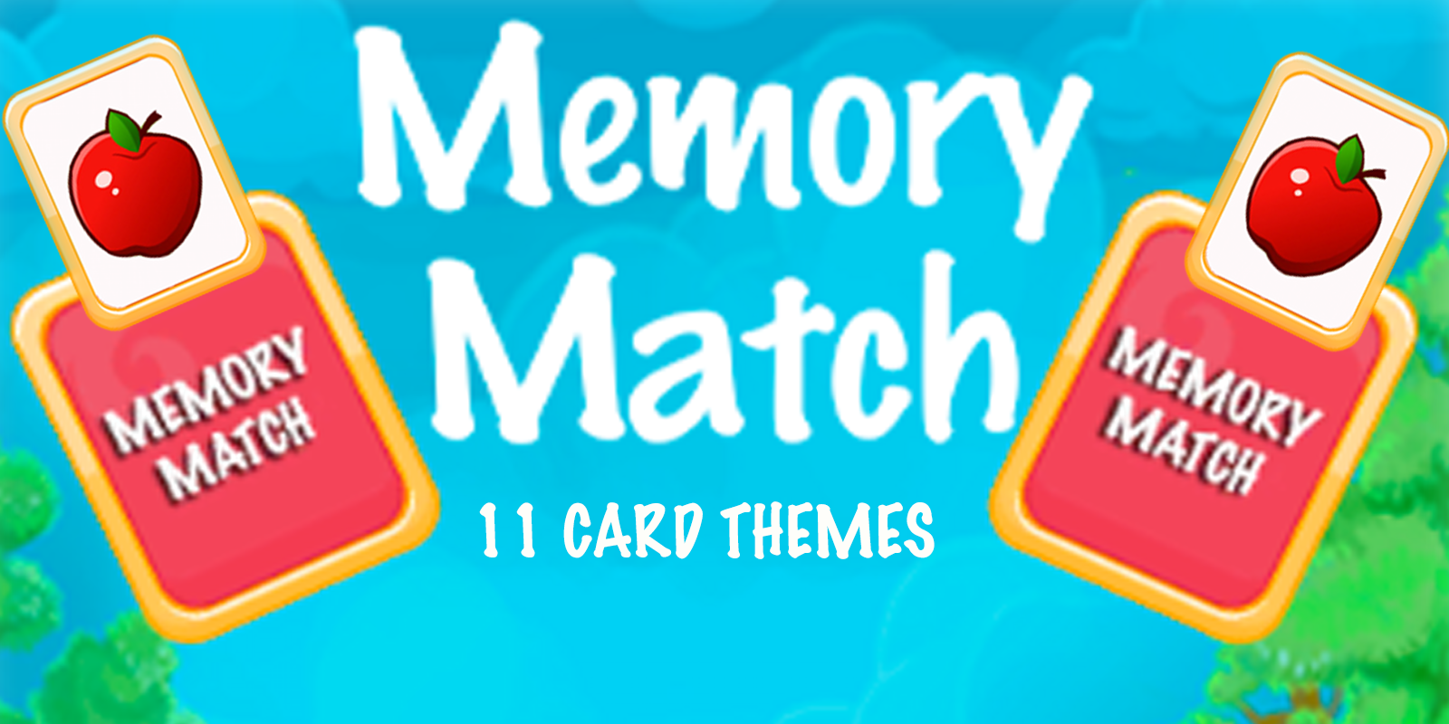Kids Memory Game Unity3d With Admob By Pottergames Memory Games For Kids Unity Games Memory Games