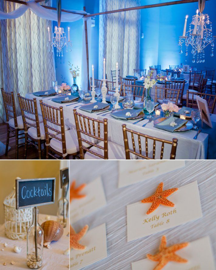Elegant And Chic Beach Inspired Real Wedding With Images Beach
