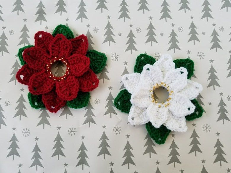 Upcycled Poinsettias