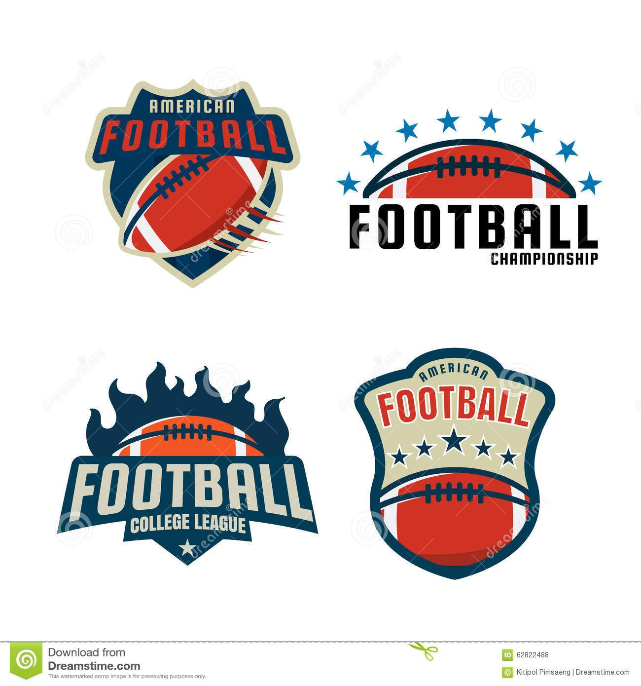 image result for american football leagues logos