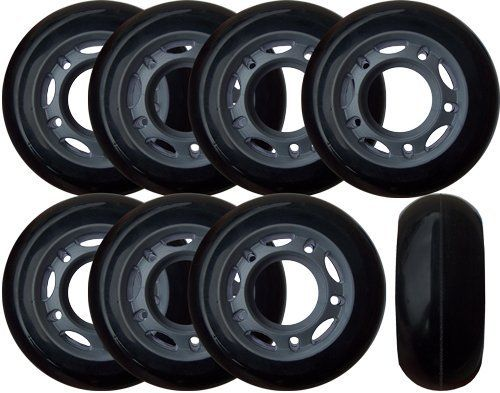 Set Of 8 Hockey Goalie Wheels 60mm 82a Inline Skates By Players