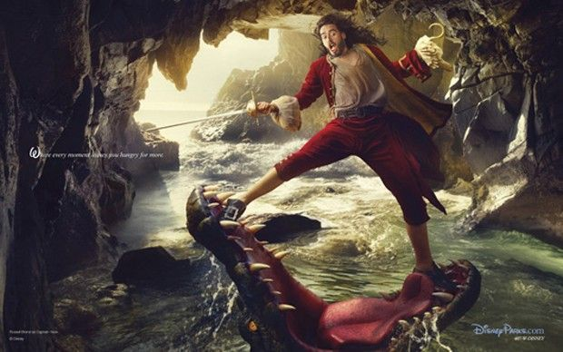 """Captain Hook- Russell Brant ~""""Where every moment leaves you hungry for more"""""""