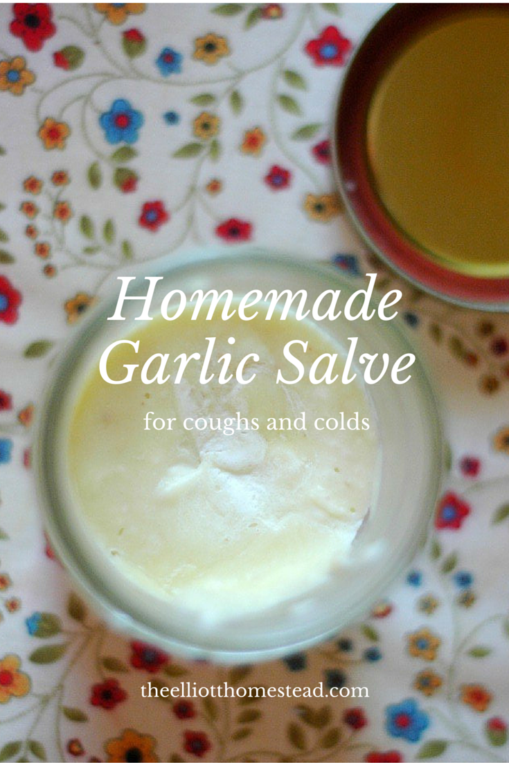 Homemade Garlic Salve For Coughs Amp Colds Recipe Cough