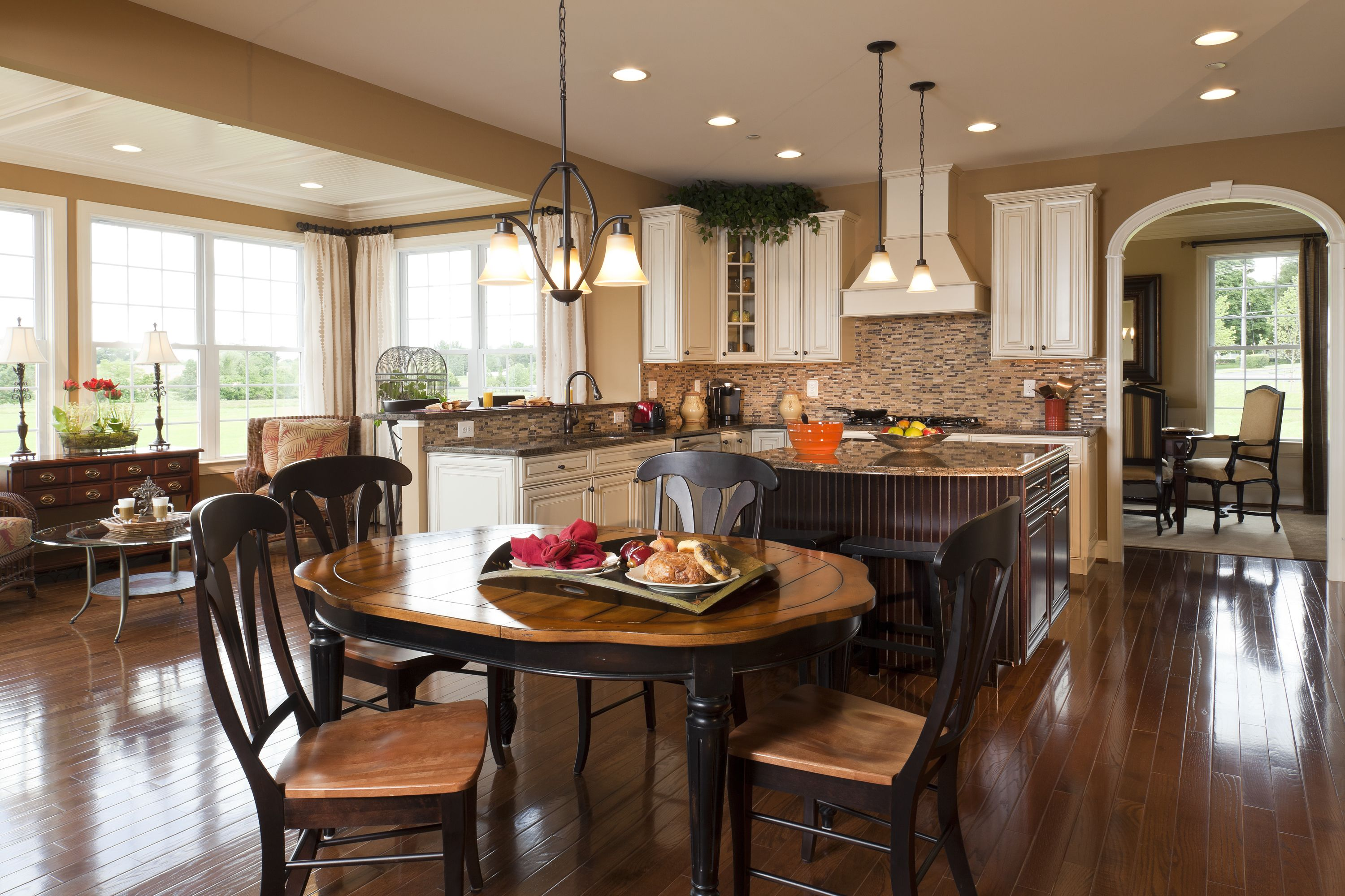 Kitchen with morning room home designs pinterest for Kitchen morning room designs