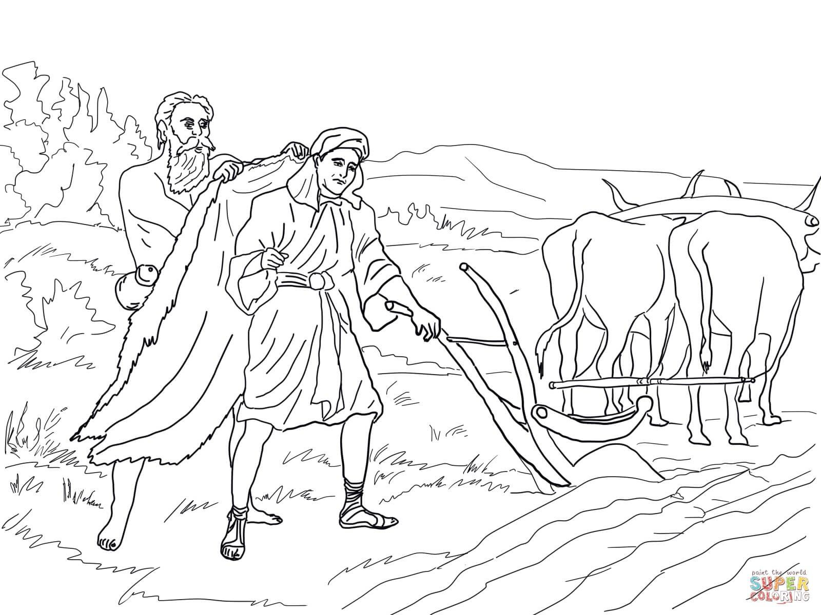Pin By Inspirational Living On Elijah Elisha Bible Coloring Pages Coloring Pages Bible Coloring