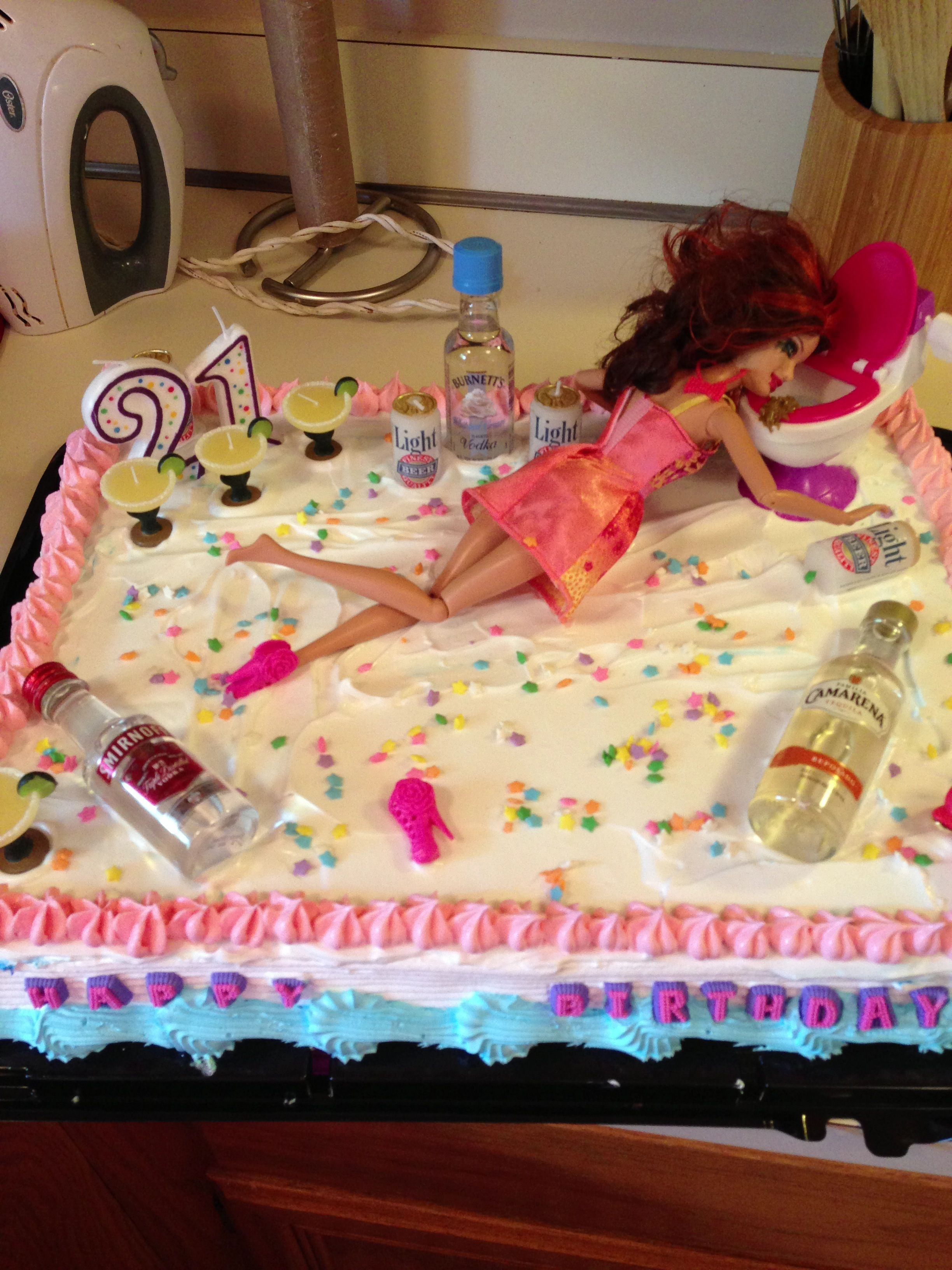 The Best 21st Birthday Cake Ever 21st Bday Ideas Pinterest