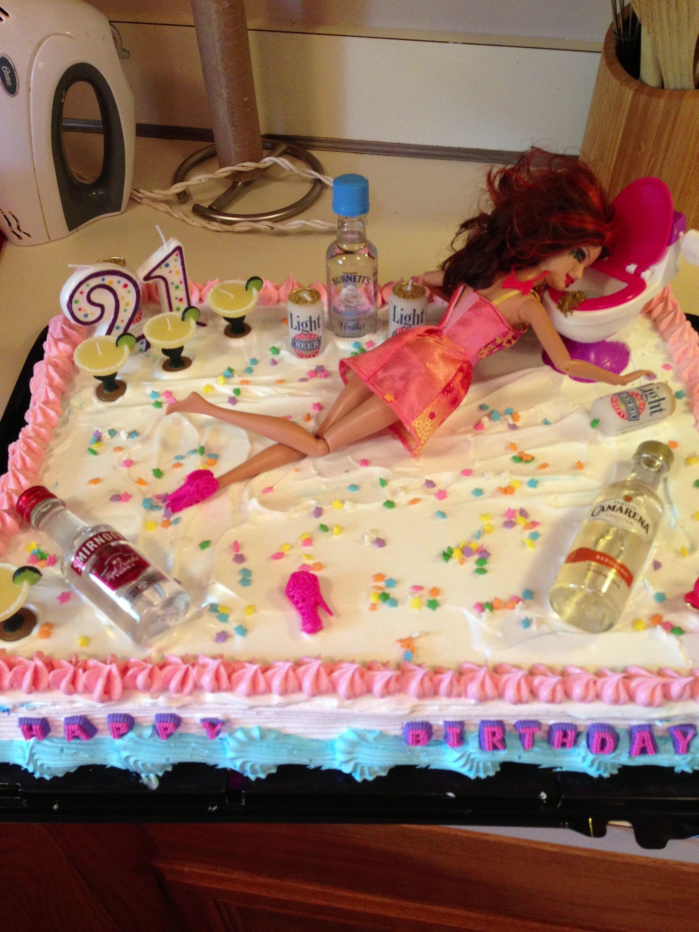 The Best 21st Birthday Cake Ever