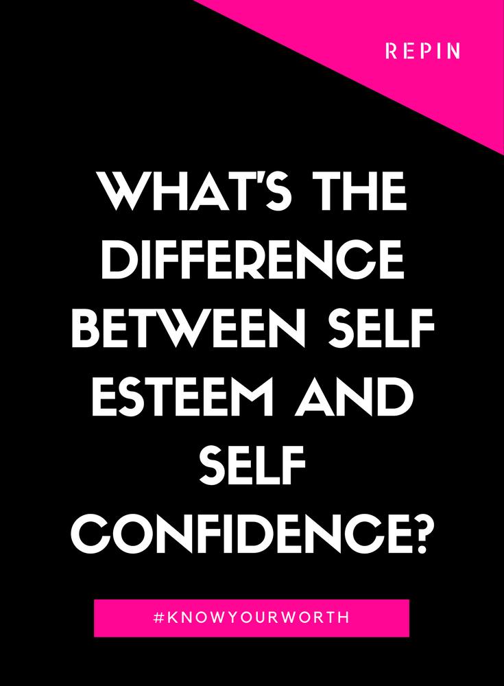 how to build self esteem and be confident pdf