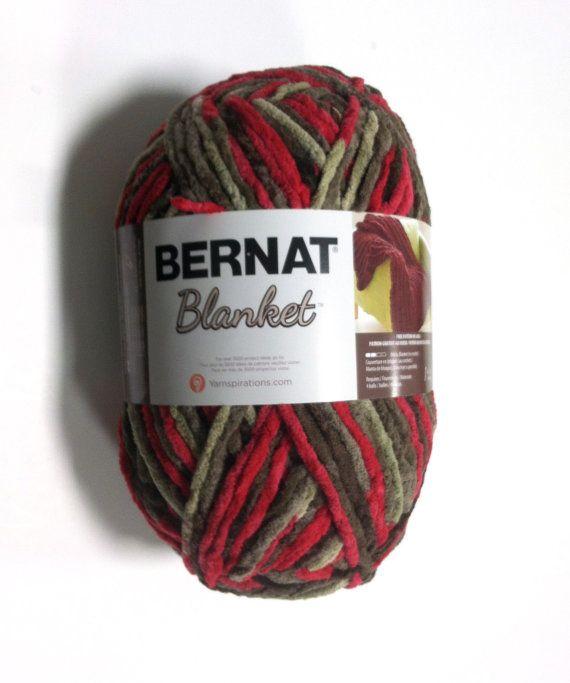 Bernat Blanket Yarn Raspberry Trifle Large Skein 300 Grams ...