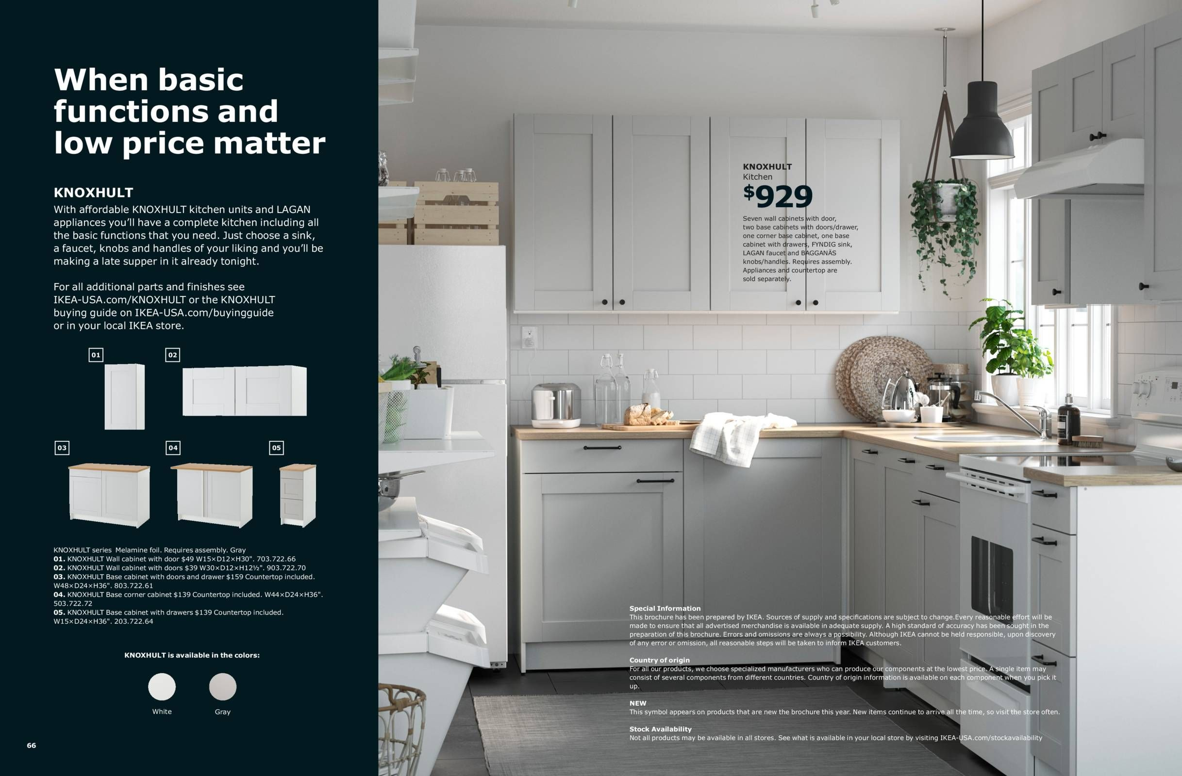 KITCHENS DONE IN A DAY - IKEA Kitchen Brochure 2019 ...