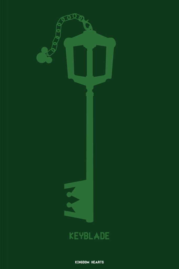 Kingdom Hearts Minimalist Poster Inspiration In 2018 Pinterest